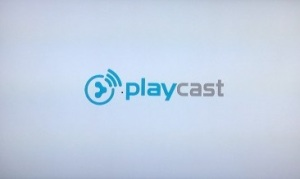 The PlayCast App is available in the Channel Store