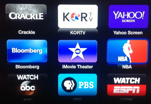 Apple has added many new apps the the Apple TV lineup recently.