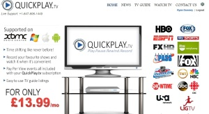 Quick Play Home Page